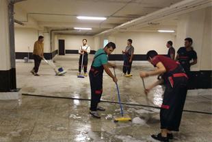 شرکت خدماتی نظافتی خانه پاک سون