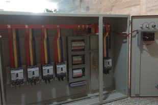 مونتاژ تابلو برق صنعتی فشار ضعیف متوسط تابلو توزیع