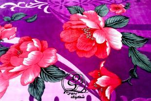 پتو سیلک گلدار شکوفه