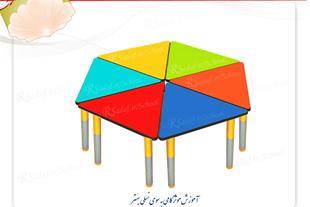 میز مثلث کد 103