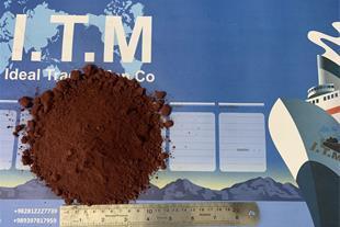 تولید فروش و قیمت خاک اخرای هرمز, گل اخرا ocher