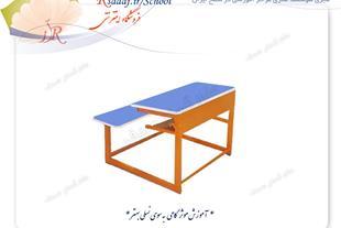 میز و نیمکت دو نفره و سه نفره مهرمس ویژه مدارس