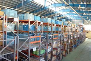تولید طراحی فروش و اجرای قفسه های صنعتی انبار